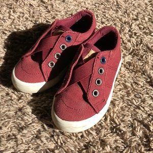 Cat & Jack Toddler Boys Slip On Sneakers Sz 6